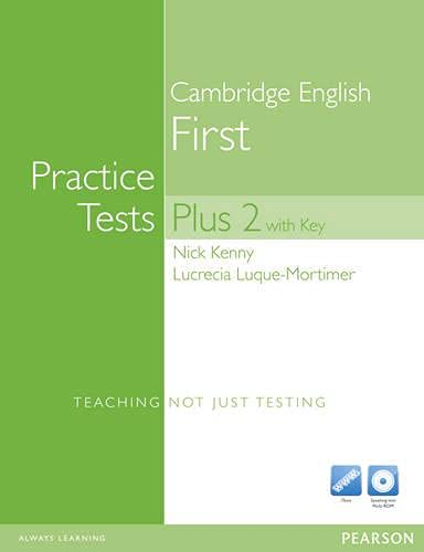 9781408267882: Practice Tests Plus FCE 2 with Answer Key & CD-ROM
