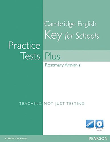 9781408267912: Practice Tests Plus KET for Schools without Key with Multi-ROM and Audio CD Pack