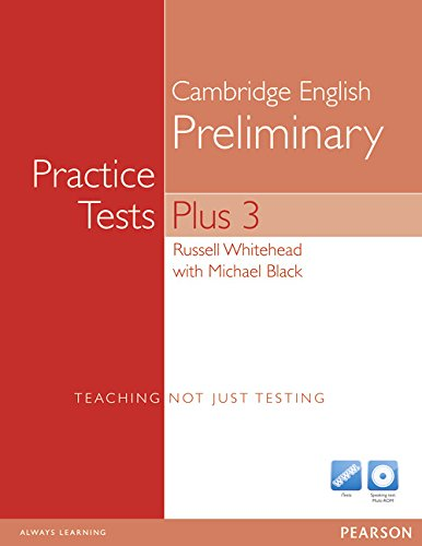 9781408267936: Practice Tests Plus PET 3 without Key with Multi-ROM and Audio CD Pack
