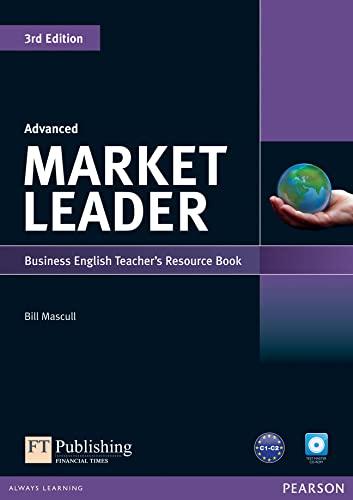 9781408268025: Market Leader 3rd Edition Advanced Teacher's Resource BookTest Master CD