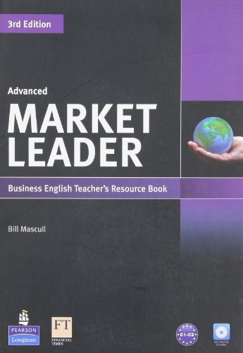 9781408268025: Market Leader Advanced Teacher's Resource Booktest Master Cd-rom Pack
