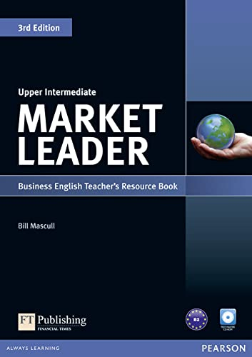 9781408268032: Market Leader Upper Intermediate Teacher's Resource Book and Test Master CD-ROM Pack