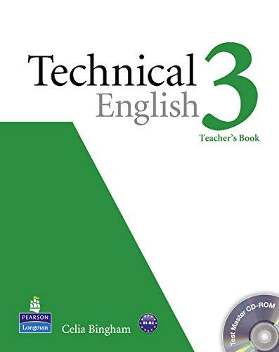 9781408268056: Technical English Level 3 Teacher's Book/Test Master CD-Rom Pack