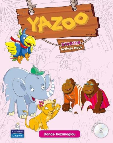 9781408268537: Yazoo Global Starter Activity Book and CD ROM Pack