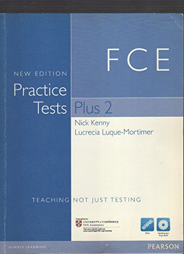 9781408268995: Practice Test Plus FCE 2 NE without Key with Multi-ROM and audio CD Pack (Practice Tests Plus)