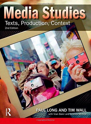 9781408269510: Media Studies: Texts, Production, Context