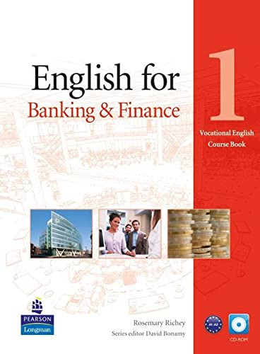 9781408269886: English for Banking & Finance Level 1 Coursebook and CD-ROM Pack (Vocational English)
