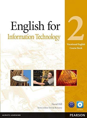 9781408269909: Vocational english. English for IT. Coursebook. Per le Scuole superiori. Con CD-ROM: English for IT Level 2 Coursebook and CD-ROM Pack