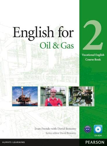 9781408269954: English for Oil & Gas 2 Course Book with CD-ROM (Vocational English Series)
