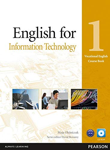 9781408269961: Eng for IT Level 1 CBk/CD-Rom Pk (Vocational English Course Book)