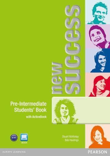 9781408271513: New Success Pre-Intermediate Students' Book & Active Book Pack