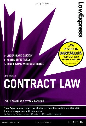 9781408271551: Law Express: Contract Law (Revision Guide)