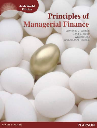9781408271582: Principles of Managerial Finance