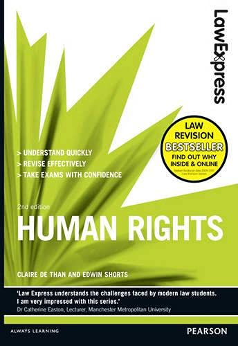 Law Express: Human Rights (Revision Guide): Than, Claire de;