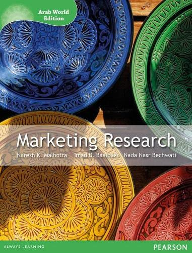 Marketing Research: An Applied Orientation (Paperback): Naresh K. Malhotra, Imad B. Baalbaki, Nada ...