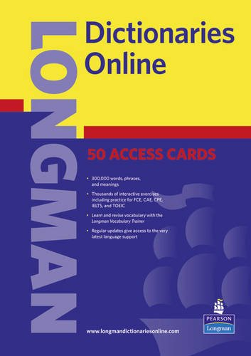9781408272572: Longman Dictionaries Online PIN Voucher - 50 Users (Longman Dictionary of English Language and Culture)