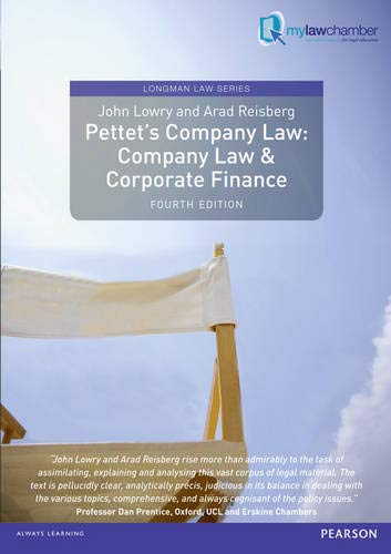 9781408272831: Pettet's Company Law: Company Law and Corporate Finance (Longman Law Series)