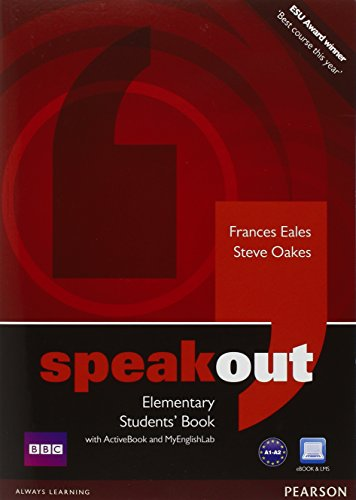 9781408276068: Speakout Elementary Students' Book with DVD/Active Book and MyLab Pack