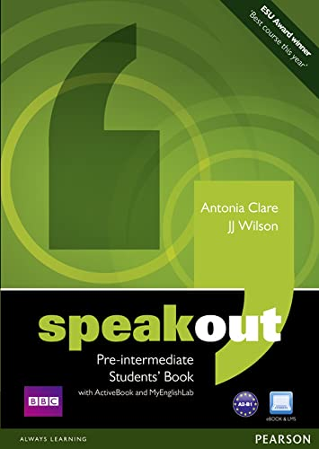 9781408276082: Speakout Pre Intermediate Students' Book with DVD