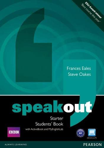 9781408276099: Speakout Starter Students' Book with DVD/Active Book and MyLab Pack