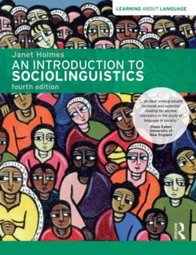 9781408276747: An Introduction to Sociolinguistics (Learning about Language)