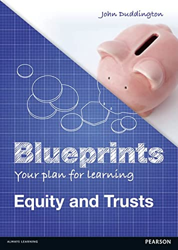 9781408277294: Equity & Trusts: Uk Edition (Blueprints)