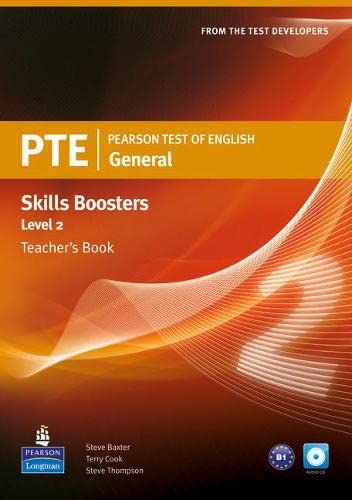 9781408277935: Pearson Test of English General Skills Booster 2 Teacher's Book and CD Pack (Pearson Tests of English)
