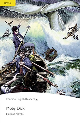 9781408278093: Level 2: Moby Dick Book and MP3 Pack (Pearson English Graded Readers)