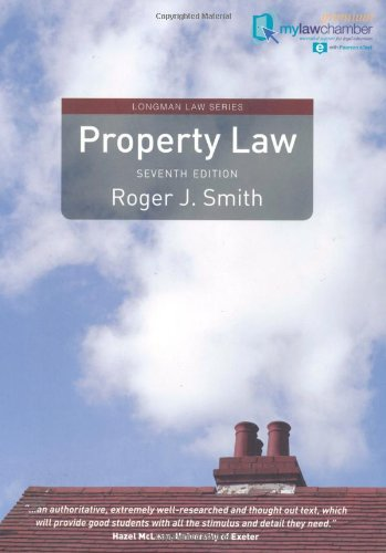 9781408279328: Property Law Premium mylawchamber Pack (Longman Law Series)