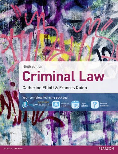 9781408280676: Criminal Law