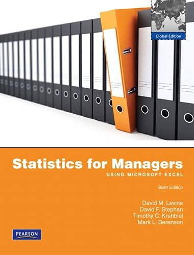 9781408283462: Statistics for Managers Using MS Excel with MathXL