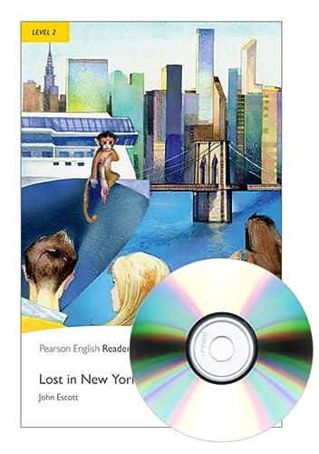 9781408285107: Lost in New York. Level 2. Con espansione online. Con CD-Audio