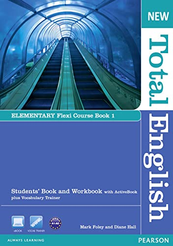 9781408285763: New Total English Elementary Flexi Coursebook 1 Pack