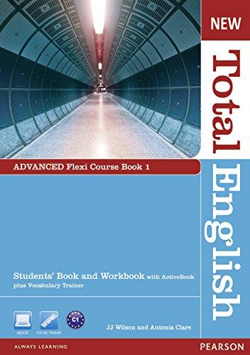 9781408285817: New Total English Advanced - Flexi Course Book 1