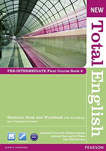 9781408285831: New Total English Pre-Intermediate Flexi Coursebook 2 Pack