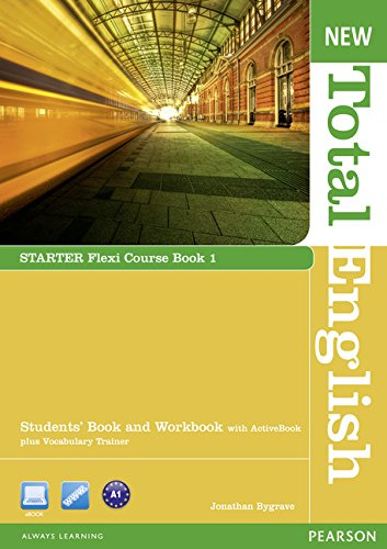 9781408285848: New Total English Starter Flexi Coursebook 1 Pack