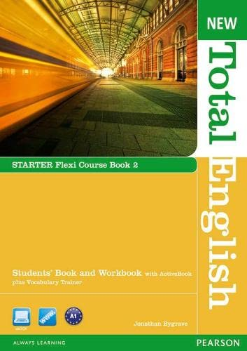 9781408285855: New Total English Starter Flexi Coursebook 2 Pack