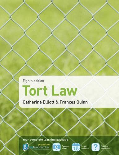 9781408286371: Tort Law