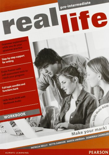 9781408286845: Real life. Pre-intermediate. Active book pack: Student's book-Workbook-Active book. Per le Scuole superiori. M-ROM