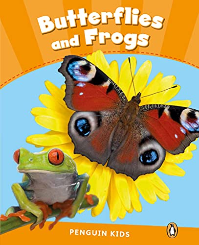 9781408288337: Level 3: Butterflies and Frogs CLIL (Pearson English Kids Readers)