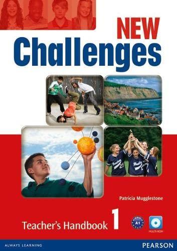 9781408288900: New Challenges 1 Teacher's Handbook Multi-ROM Pack