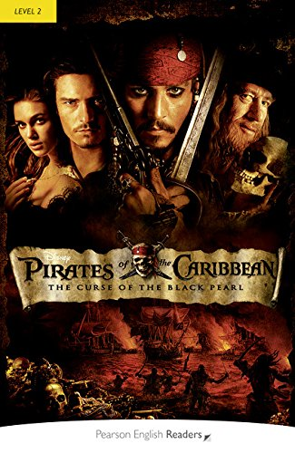 9781408289471: Pirates of the Caribbean: Curse of the Black Pearl (w/Audio), Level 2, Pearson English Readers (2nd Edition) (Pearson English Readers, Level 2)