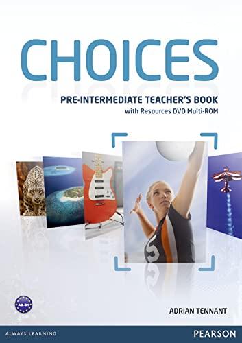 9781408289792: Choices Pre-Intermediate Teacher's Book & Multi-ROM Pack