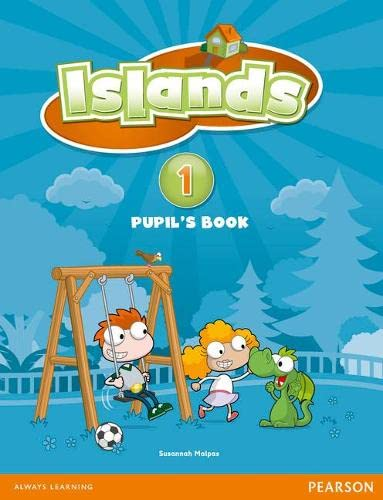 Islands Level 1 Pupil's Book plus pin: Malpas, Susannah