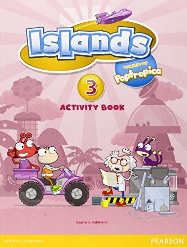 9781408290255: Islands Level 3 Activity Book plus pin code