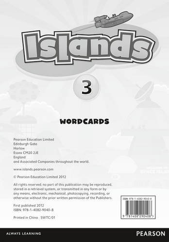 9781408290408: Islands Level 3 Word Cards for Pack