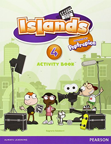 9781408290422: Islands Level 4 Activity Book plus pin code