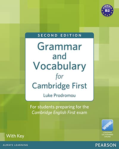 9781408290590: Grammar & Vocabulary for FCE 2nd Edition with key + access to Longman Dictionaries Online (Grammar and Vocabulary)