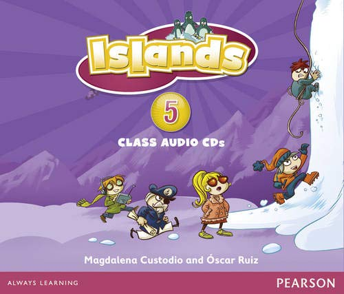 9781408290620: Islands Level 5 Audio CD for Pack