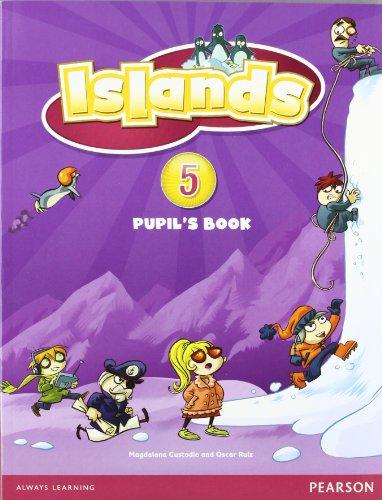 9781408290712: Islands Level 5 Pupil's Book plus pin code